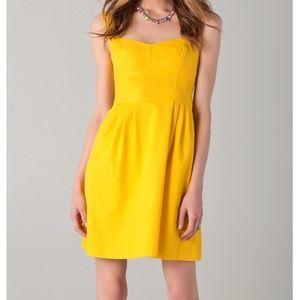 NWT Nanette Lapore Dulce Dress Yellow (Size 8)